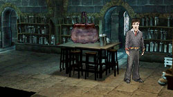Potion mixing in 'Harry Potter and the Half-Blood Prince' the Video Game