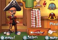 Dressed like a pirate in  'Carnival Games: MiniGolf'