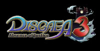 'Disgaea 3: Absence of Justice' game logo