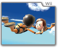 Sky Diving Wii Sports Resort