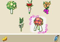 Flower arrangements in 'Imagine Wedding Designer'