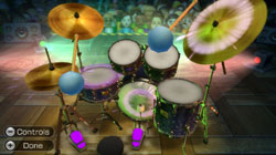 Drum set in Wii Music