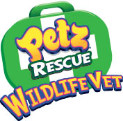 'Petz Rescue Wildlife Vet' game logo