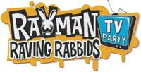 ' Rayman Raving Rabbids TV Party' game logo