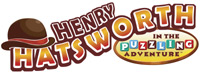 'Henry Hatsworth in the Puzzling Adventure' game logo