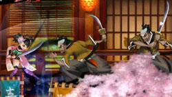Katana battles in 'Muramasa: The Demon Blade'