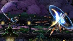Sword-specific attack in 'Muramasa: The Demon Blade'