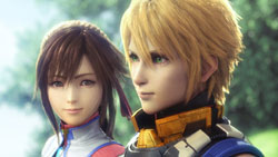 Reimi and Edge in 'Star Ocean: The Last Hope'