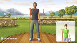 Personal trainer in ''EA SPORTS Active''