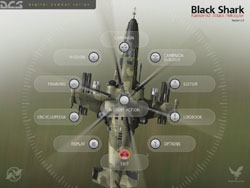 the Russian Ka-50 attack helicopter from 'DCS: Black Shark'