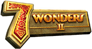 ''7 Wonders II'' for DS game logo