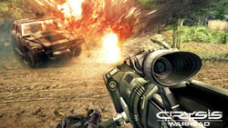 Powerful weapons in 'Crysis Maximum Edition'