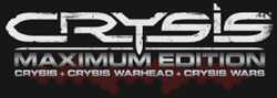 'Crysis Maximum Edition' game logo