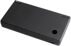 View of the Nintendo DSi Black closed