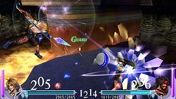Wielding special weapons and items in 'Dissidia Final Fantasy'