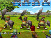 Beautifully rendered enemies from Golden Sun: Dark Dawn