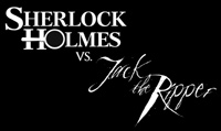 'Sherlock Holmes vs. Jack The Ripper' game logo