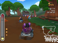 Fast-paced action in 'MySims Racing' for Wii
