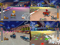 4-player Multiplayer mayhem in 'MySims Racing' for Wii