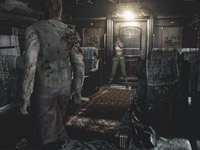 More zombies on a train in Resident Evil Archive: Resident Evil Zero