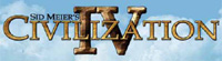 &#39Sid Meiers Civilization IV&#39 game logo