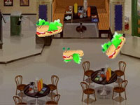 Mini-game in the Sub Shop in 'Wizards of Waverly Place'