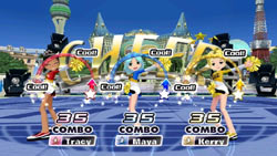 Multiplayer screen from We Cheer 2