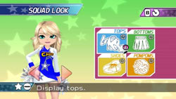 Customizing your squad's look in We Cheer 2