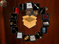 The evolving and easy to read game map and menus in Safecracker: The Ultimate Puzzle Adventure