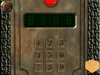 A numerical puzzle with a digital keypad from Safecracker: The Ultimate Puzzle Adventure