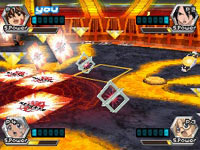 Multiplayer action in 'Bakugan: Battle Brawlers'