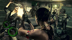 Co-op gameplay in close quarters in 'Resident Evil 5' for PC