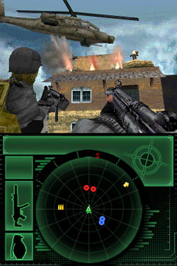 Example of ground attack with air support from Call of Duty: Modern Warfare: Mobilized