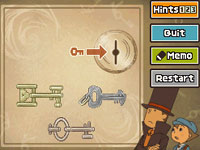 A puzzle example from ''Professor Layton and the Diabolical Box''
