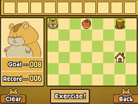 Hamster mini-game from ''Professor Layton and the Diabolical Box''