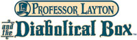 'Professor Layton and the Diabolical Box' game logo