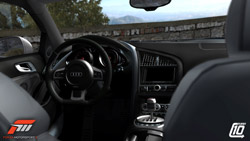 In-car detail in 'Forza Motorsport 3'