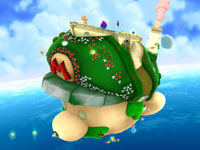Starship Mario from Super Mario Galaxy 2