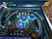 Playing a second ball in ''Black Hole'' from Pinball Hall of Fame: The Gottlieb Collection