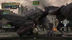 Dragon attack in 'Valhalla Knights: Eldar Saga'