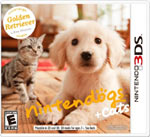 Nintendogs   Cats: Golden Retriever and New Friends game box
