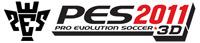 Pro Evolution Soccer 2011 3D game logo