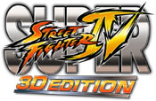 Super Street Fighter IV: 3D Edition game logo