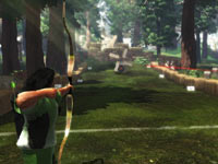 Sports Champions archery game