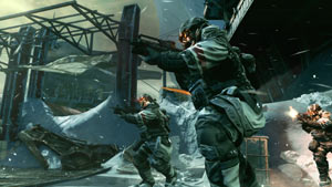 Fighting in formation in Killzone 3