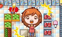 A Let's Shop Mode screen capture from Cooking Mama 3: Shop & Chop
