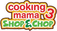 Cooking Mama 3: Shop & Chop game logo