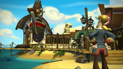 Guybrush on Flotsam Island in 'Tales of Monkey Island: Launch of the Screaming Narwhal'