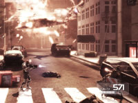 Fighting above ground in Shadow Complex