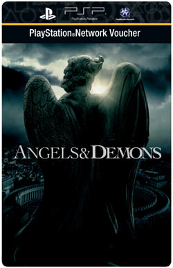PlayStation Store movie voucher for downloading Angels & Demons